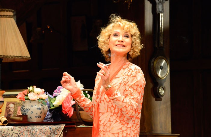 Felicity Kendal in Hay Fever at the Duke of York's Theatre, London. Photo: Nobby Clark