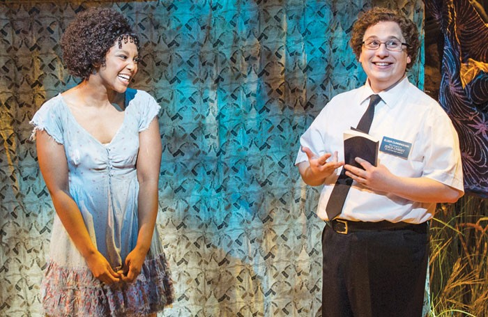 The Book of Mormon held extensive previews. Photo: Johan Persson