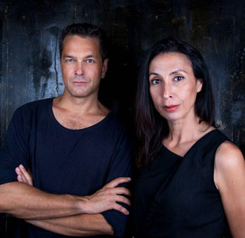 Jens Hillje and Shermin Langhoff, artistic directors of the Maxim Gorki Theater. Photo: Esra Rotthoff