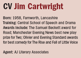 Jim Cartwright CV