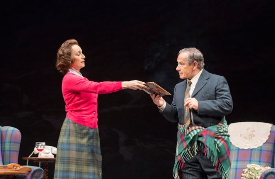 Quentin Letts was denied tickets to The Audience, starring Kristen Scott Thomas. Photo: Johan Persson
