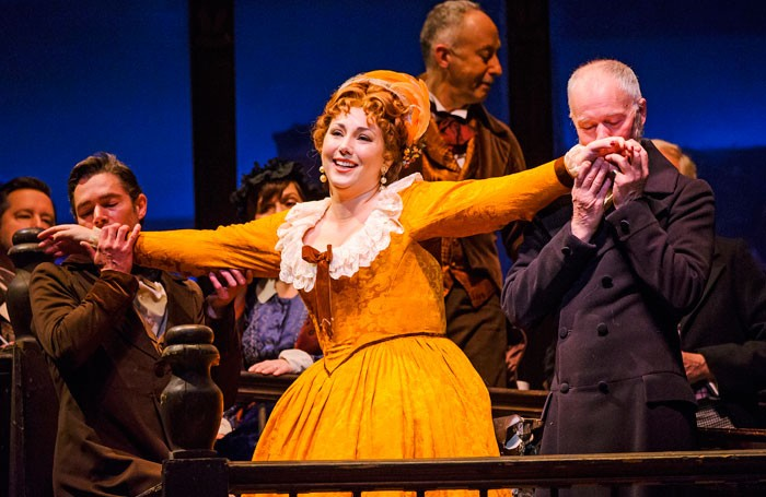 Jennifer Rowley in La Boheme, Royal Opera House. Photo: Tristram Kenton