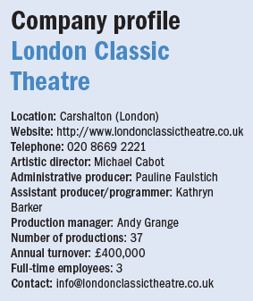 London Classic Theatre profile