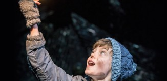 Oliver Finnegan in Charlie and the Chocolate Factory. Photo: Johan Persson