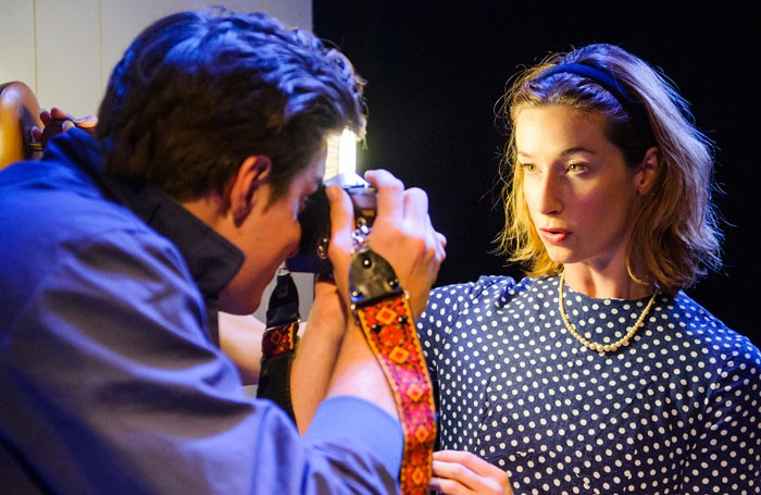 James William Wright and Adele Querol in The One Day Of The Year, Finborough Theatre