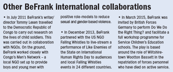 Other BeFrank international collaborations