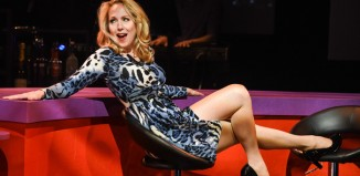 Pippa Winslow in Cougar the Musical. Photo: Robert Day