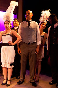 A scene from Ragtime at the Landor. Photo: Tim Parker
