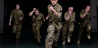 Rosie Kay Dance Company's 5 Soldiers. Photo: Tim Cross