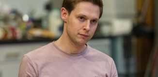 Samuel Barnett in rehearsals for The Beaux' Stratagem. Photo: Manuel Harlan