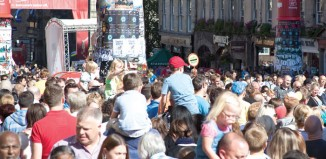 Attendees at the Edinburgh Fringe