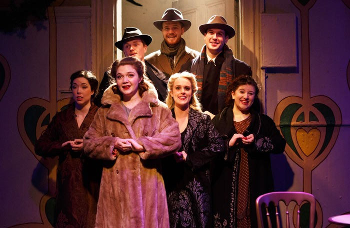 A scene from She Loves Me at the Landor Theatre. Photo: Darren Bell