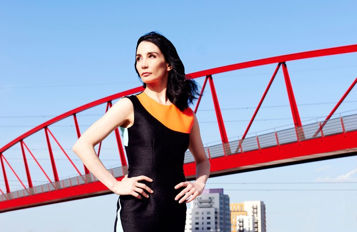 Tamara Rojo at the London City Island development. Photo:P Curties