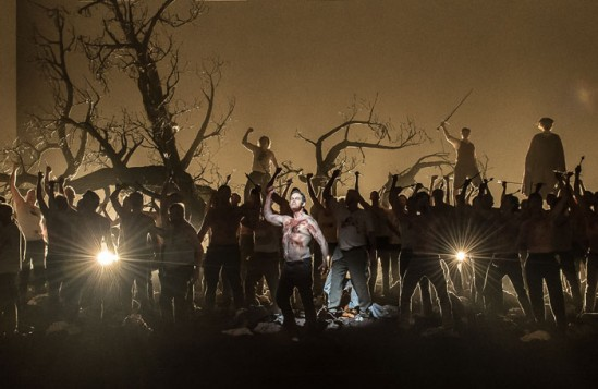 Sustained booing met a scene during the first night of Guillaume Tell at the Royal Opera House. Photo: Clive Barda