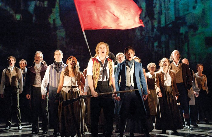A scene from Les Miserables. Photo: Tristram Kenton