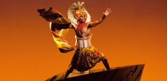 Andile Gumbi as Simba in The Lion King at the Lyceum Theatre, London. Photo: Johan Persson