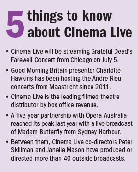 5 things cinema live