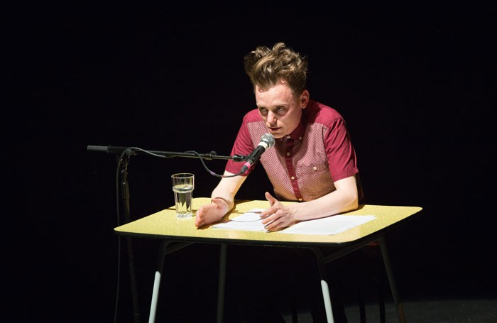 Christopher Brett Bailey, This is How We Die, Battersea Arts Centre. Photo: Claire Haigh