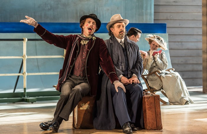 William Dazeley and Paul Nilon in Death in Venice, at Garsington
