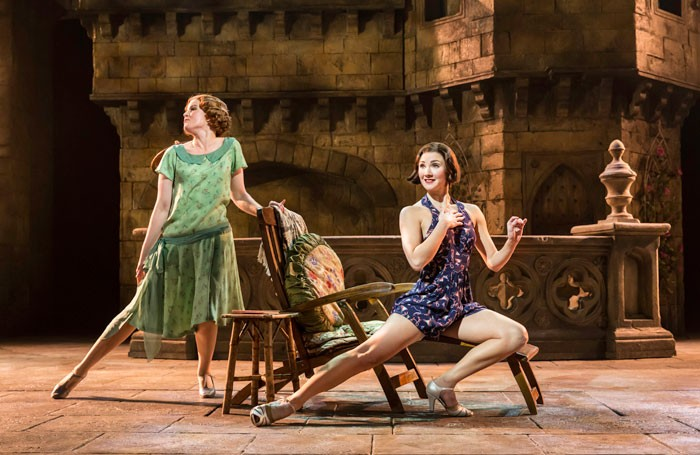 Melle Stewart and Summer Strallen in A Damsel in Distress at Chichester Festival Theatre. Photo: Johan Persson