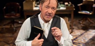 Kevin Spacey in Clarence Darrow at the Old Vic in 2014. Photo: Manuel Harlan
