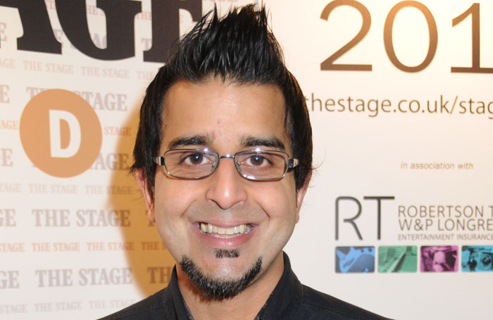 Madani Younis, artistic director, Bush Theatre. Photo: Stephanie Methven