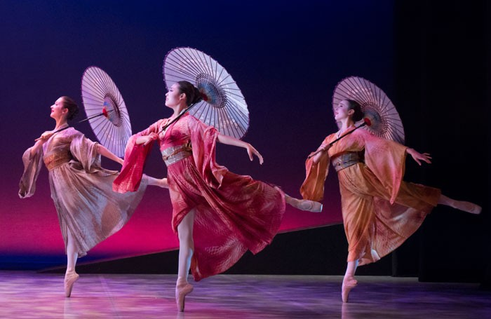 Northern Ballet dancers in Madame Butterfly. Photo: Lauren Godfrey