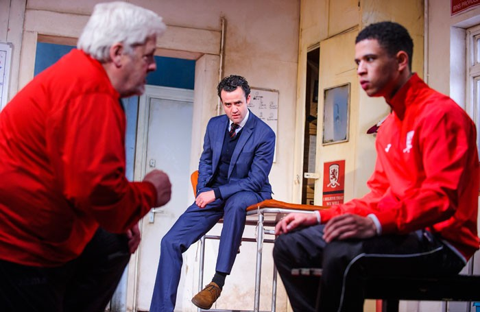 The Red Lion at the Dorfman, National Theatre, London. Photo: Tristram Kenton
