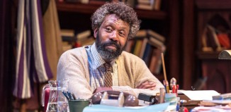 Lenny Henry in Educating Rita at the Minerva Theatre, Chichester. Photo: Manuel Harlan