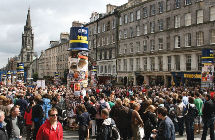 Edinburgh festival Photo: Stephen Finn/Shutterstock
