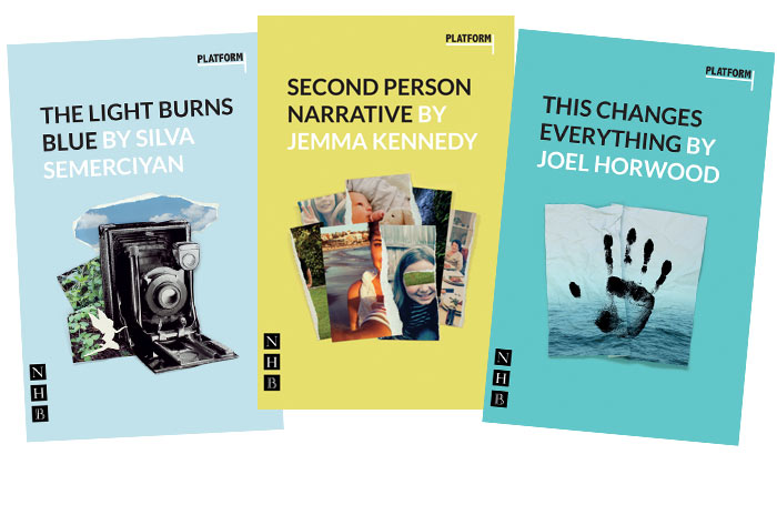 The first three plays in the Platform series of new scripts for young actors by Tomic Theatre in partnership Nick Hern Books