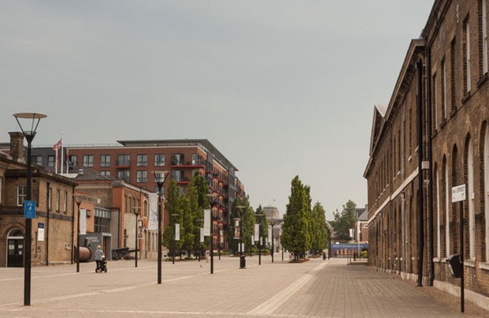 Artist's impression of Woolwich cultural quarter