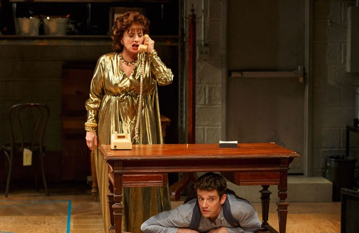 Patti LuPone and Michael Urie in Shows for Days. Photo: Joan Marcus