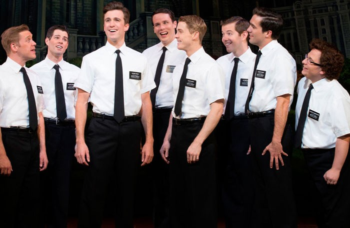 Top price tickets for The Book of Mormon are now £202.25. Photo: Joan Marcus