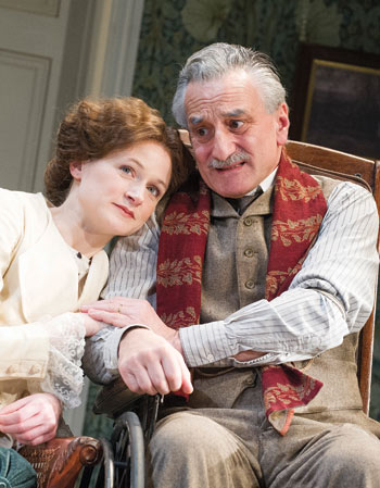 Naomi Frederick and Henry Goodman in The Winslow Boy at the Old Vic in 2013. Photo: Tristram Kenton