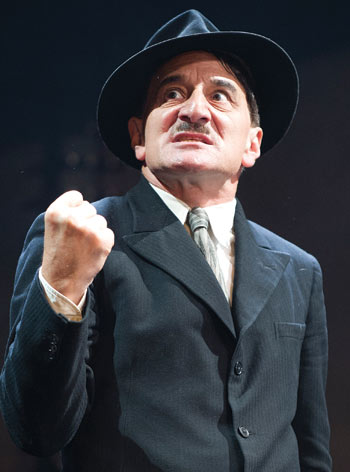 Henry Goodman in The Resistible Rise of Arturo Ui at the Duchess Theatre in 2013. Photo: Tristram Kenton