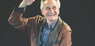 Henry Goodman in rehearsals for Volpone at the Swan Theatre, Stratford-upon-Avon. Photo: Manuel Harlan