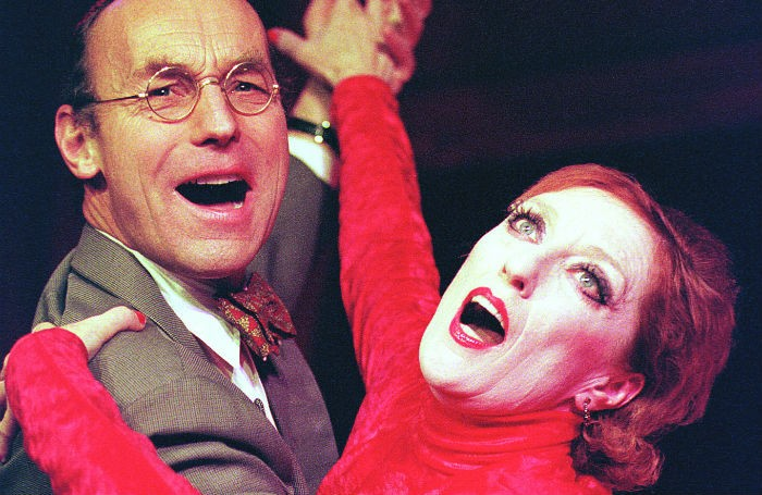 Weill and Lenya at the New End Theatre, London, in 1999. Photo: Tristram Kenton