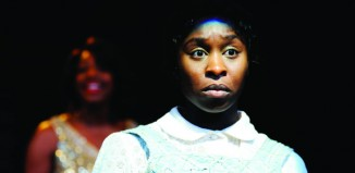 Cynthia Erivo in The Color Purple at the Menier Chocolate Factory in 2013. Photo: Nobby Clark