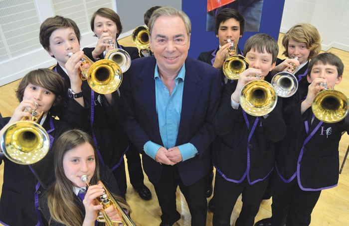 Andrew Lloyd Webber. Photo: Sunday Times