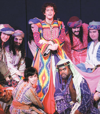 Joseph and the Amazing Technicolor Dreamcoat is 50 years old this year. Photo: Tristram Kenton