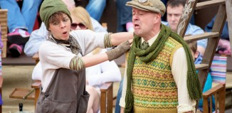 Alix Ross and Daniel Goode in The Wind in the Willows. Photo: Mark Mcnulty