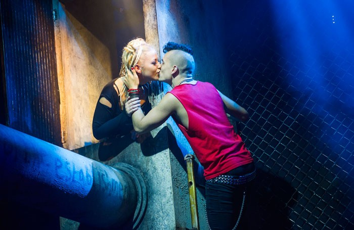 Green Day's American Idiot at the Arts Theatre, London. Photo: Tristram Kenton