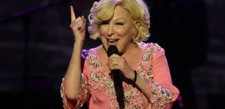 Bette Midler performing on her current tour. Photo: Larry Marano