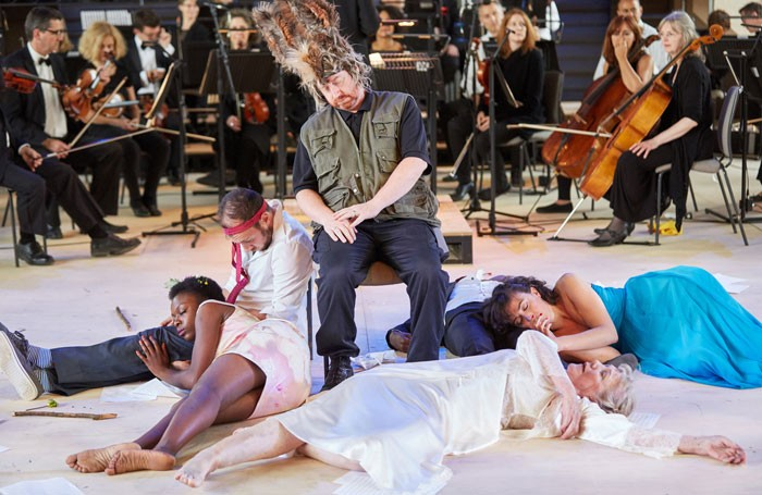 Garsington Opera and the RSC's production of A Midsummer Night's Dream. Photo: Mark Douet