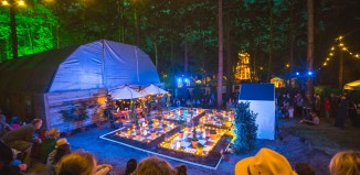 The Little House stage at this year's Latitude Festival in Suffolk. Photo: Victor Frankowski