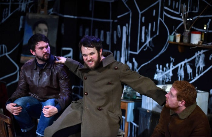 Little Malcolm And His Struggle Against The Eunuchs at Southwark Playhouse. Photo: Thomas Scurr