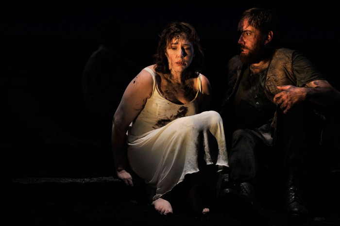 The Rape of Lucretia, at Glyndebourne Festival 2015, featuring Christine Rice and Matthew Rose. Photograph: Robbie Jack