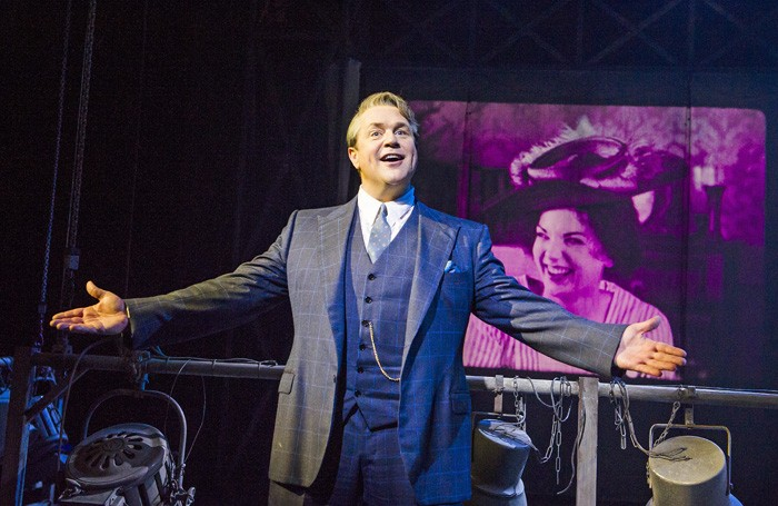Michael Ball in Mack and Mabel at Chichester Festival Theatre. Photo: Tristram Kenton