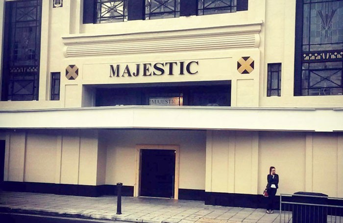 The Majestic is now being transformed into a 280-seat theatre space, including a 1930s-themed bar